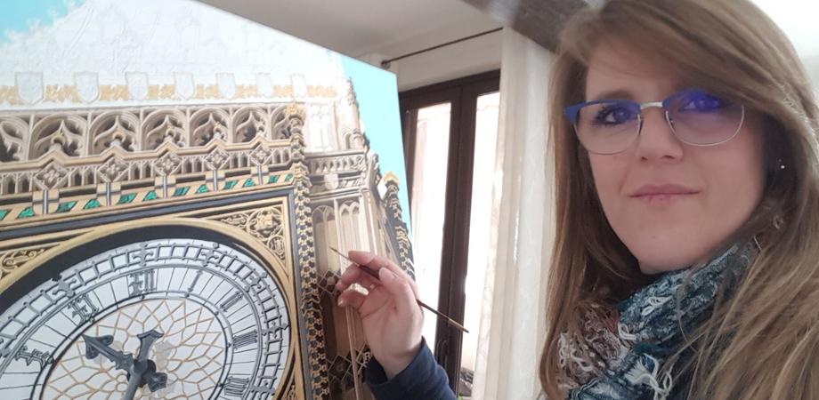 """La sancataldese Lisa Messina al """"premio Eureka, artisti emergenti"""": esporrà un'opera intitolata """"In time"""""""
