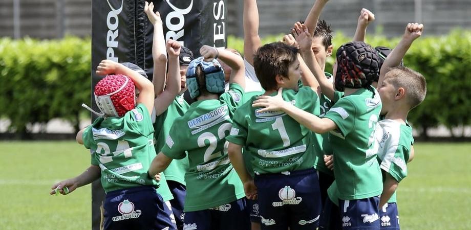 Al via a Caltanissetta il festival del mini - rugby e il trofeo Coni, oltre 200 bambini al Tomaselli