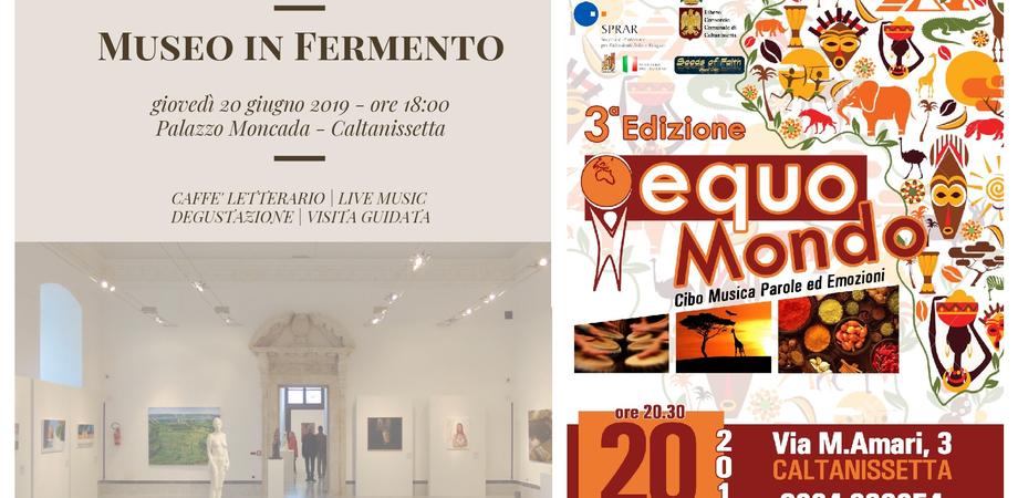 Museo in fermento ed Equomondo: iniziative a Caltanissetta nell'ambito dei progetti Sprar