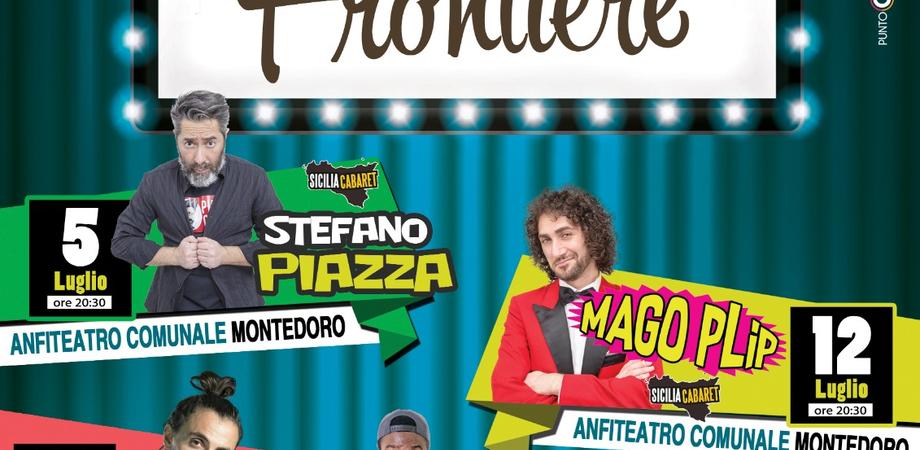 """Al via a Montedoro la rassegna di cabaret """"Risate senza frontiere"""": cinque serate all'insegna della solidarietà"""