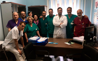 San Cataldo, il reparto di Gastroenterologia del