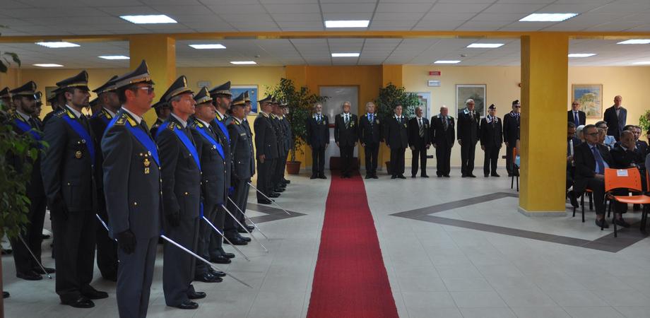 Caltanissetta, celebrato il 245esimo anniversario della Guardia di Finanza: bilancio positivo nella lotta all'evasione e alla criminalità