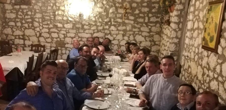 Caltanissetta, serata conviviale per la categoria dei Fabbri impegnata in prima linea durante la Settimana Santa