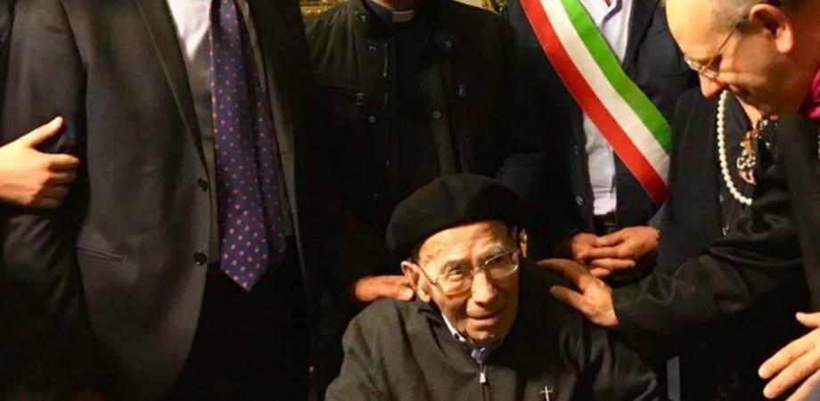 Monsignor Calafato è tornato alla Casa del Padre. Scompare a 101 anni il decano del presbiterio nisseno