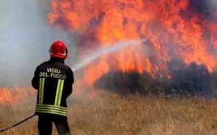Giornata di caldo record in provincia di Caltanissetta: domenica oltre una trentina di interventi dei vigili del fuoco