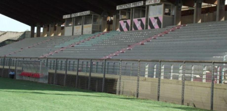 Gela, lo stadio presto riaprirà: stanziati 90 mila euro per effettuare i lavori necessari