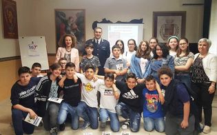 Caltanissetta, studenti della scuola