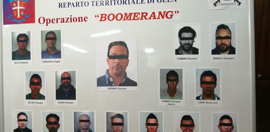 """Gela, fiumi di droga da Catania e Vittoria nel blitz """"Boomerang"""": indagati oggi dal Gip"""