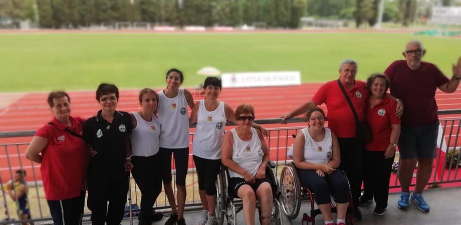 Campionati italiani di atletica leggera per disabili, record di medaglie per l'Asd Gela Sport