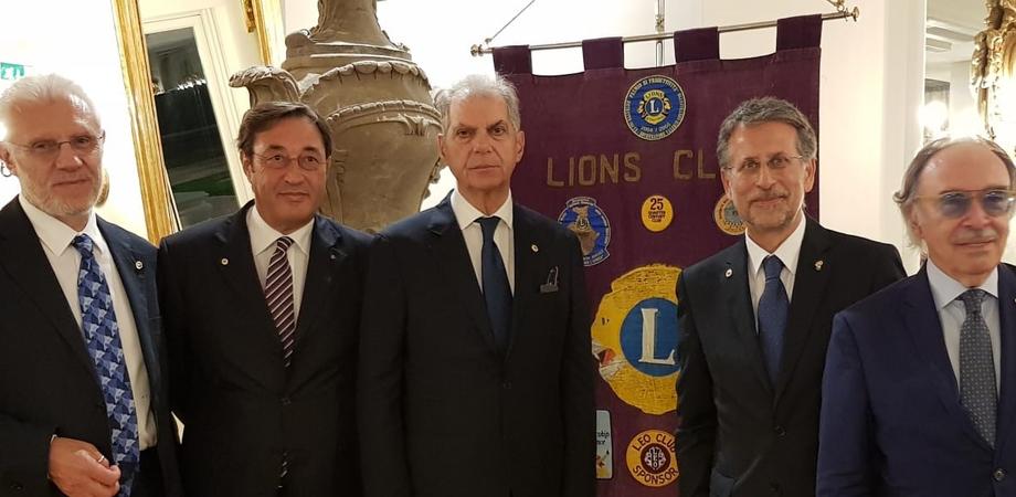 Lions Club Caltanissetta, passaggio della Campana: ilnotaio Alfredo Grasso nuovo presidente