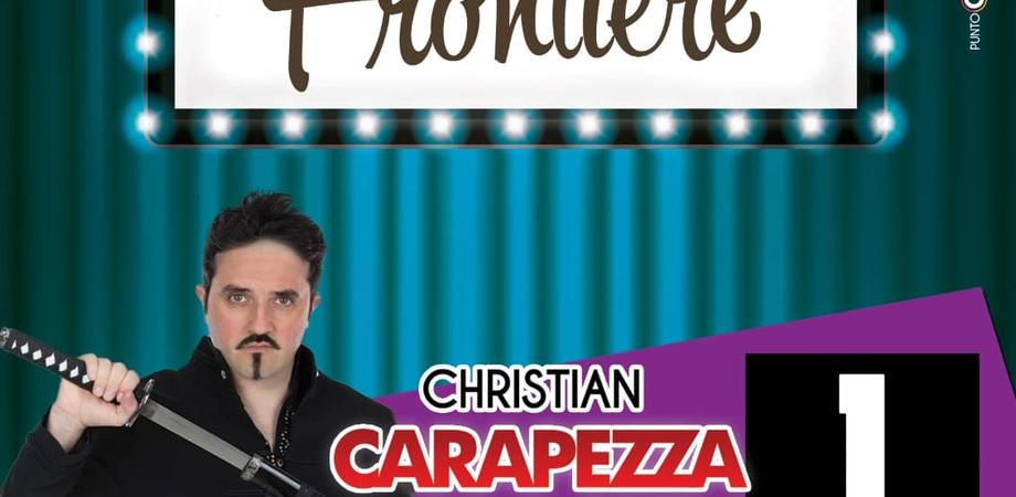 """""""Risate senza frontiere"""", torna a Montedoro la rassegna di cabaret: sul palco Christian Carapezza"""