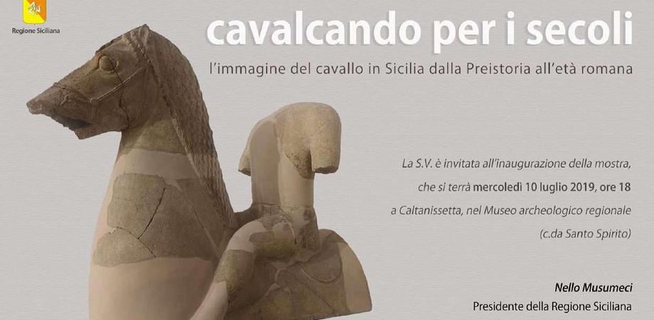 Al Museo Regionale Interdisciplinare di Caltanissetta una mostra sull'immagine del cavallo in Sicilia
