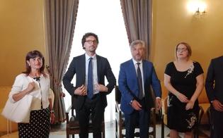 Il ministro Toninelli a Caltanissetta: