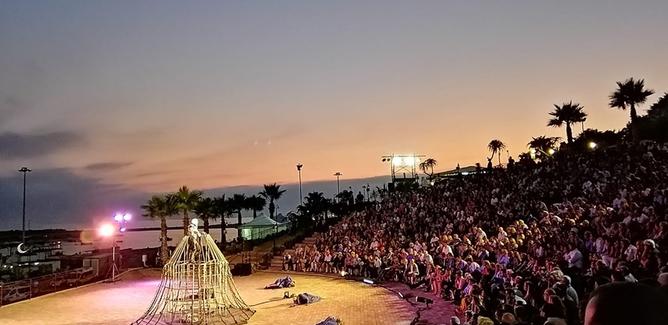 Prometheus inaugura villa Greca, un successo l'apertura a Gela di un teatro donato alla città da un imprenditore