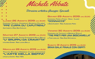Caltanissetta, alla scalinata San Francesco quattro compagnie teatrali per il premio