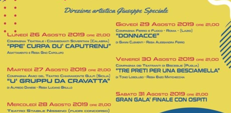 """Caltanissetta, alla scalinata San Francesco quattro compagnie teatrali per il premio """"Michele Abbate"""""""