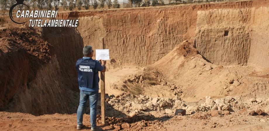 Carabinieri del Noe sequestrano 50.000 metri quadri di cava di sabbia marina nel Ragusano