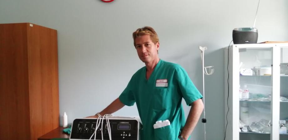 """All'ospedale """"Raimondi"""" di San Cataldo oltre 200 pazienti per la Scrambler Therapy: in 87 casi il dolore è scomparso"""