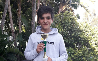 Tennis, l'atleta nisseno Marco Vancheri prenderà parte ai campionati nazionali under 12