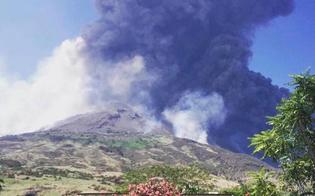 Protezione civile, sale l'allerta Stromboli. Sull'isola scosse di terremoto e boati