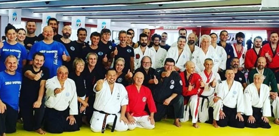 Stage nazionale di arti marziali, presente anche il maestro nisseno Alfonso Torregrossa