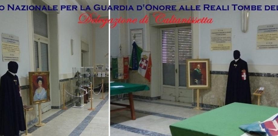 """A Caltanissetta """"Le vie dei Tesori"""", la Guardia d'Onore espone due ritratti nel palazzo dei Mutilati"""