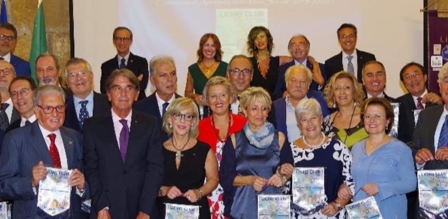 Lions Club di Caltanissetta, cerimonia di apertura dell'anno sociale: spente le prime 60 candeline