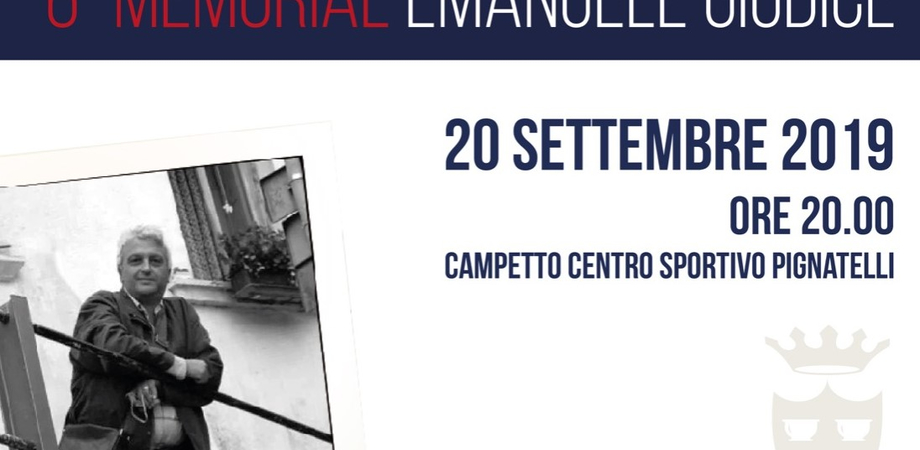 Gela ricorda Emanuele Giudice, il 20 settembre il sesto memorial per non dimenticare