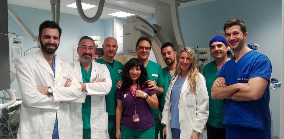 Prevenzione ictus: all'ospedale Sant'Elia di Caltanissetta primo intervento di chiusura dell'auricola sinistra