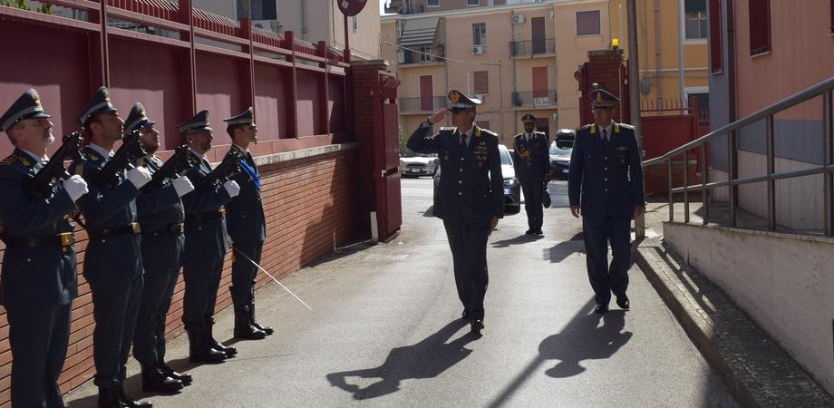 Guardia di Finanza, il comandante interregionale dell'Italia Sud Occidentale in visita a Caltanissetta