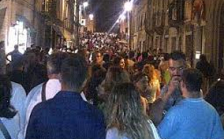 Piazze dedicate allo sport, notte bianca a Caltanissetta: sarà presente anche la Nissa Rugby