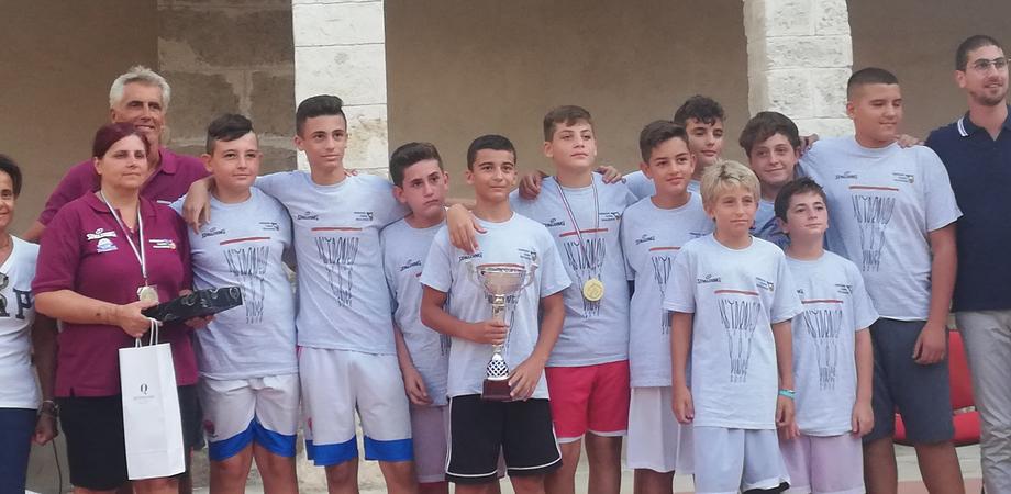 Minibasket, torneo delle province: i cestisti di Gela e Caltanissetta conquistano un meritato sesto posto