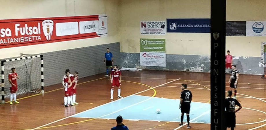 Pro Nissa Futsal, impresa storica per i ragazzi di mister Tarantino: battuto il Regalbuto