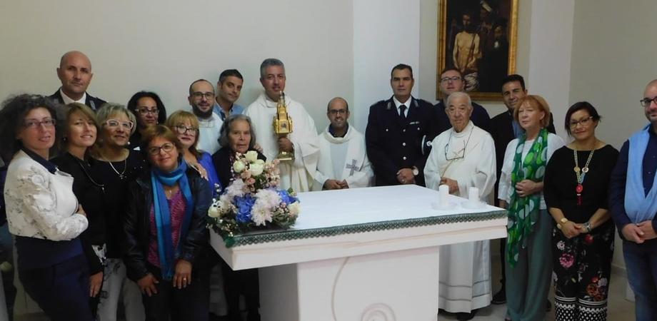 Gela, il carcere di contrada Balate oggi ha accolto il reliquario della Madonna delle Lacrime