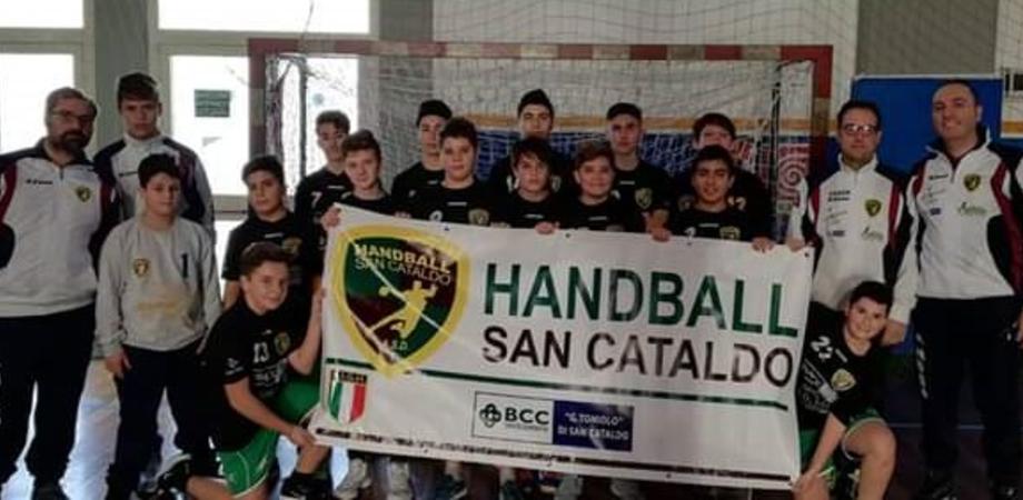 L'Asd Handball di San Cataldo scalda i motori: tutto pronto per partecipare al nuovo campionato