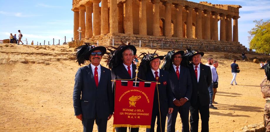 I bersaglieri invadono Agrigento per il raduno interregionale, presente anche una delegazione gelese