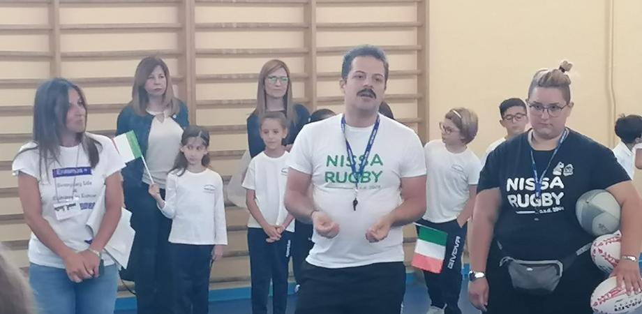 """Progetto Erasmus e """"Everyday Life and Cultures in Europe"""": la Nissa Rugby alla Caponnetto di Caltanissetta"""