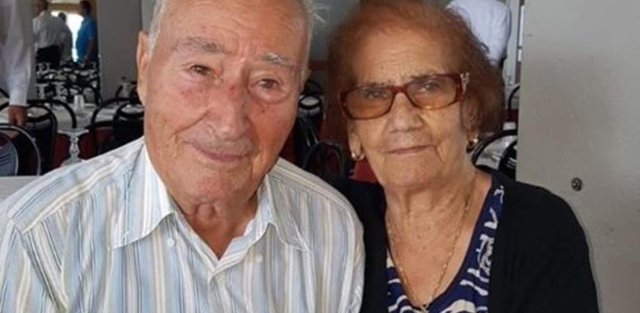 A San Cataldo Nozze di Pietra per Giuseppe e Giuseppina Vullo: il loro amore dura da 65 anni