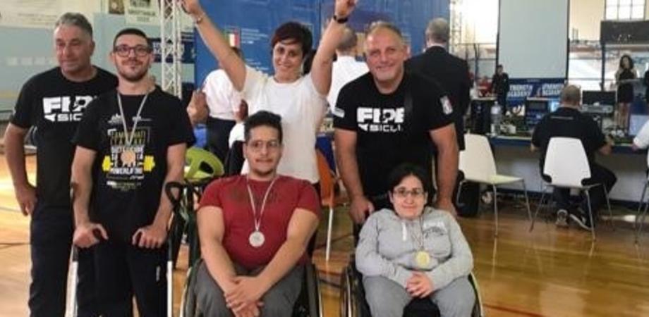 Campionati italiani di pesistica, atleti nisseni a Grottaglie fanno il pieno di medaglie