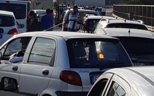 Auto piomba su cantiere all'altezza dello svincolo per Scillato: tre feriti sulla A19