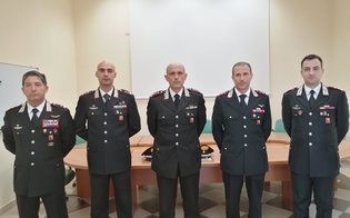 Caltanissetta, arrivano quattro nuovi comandanti per l'Arma dei Carabinieri