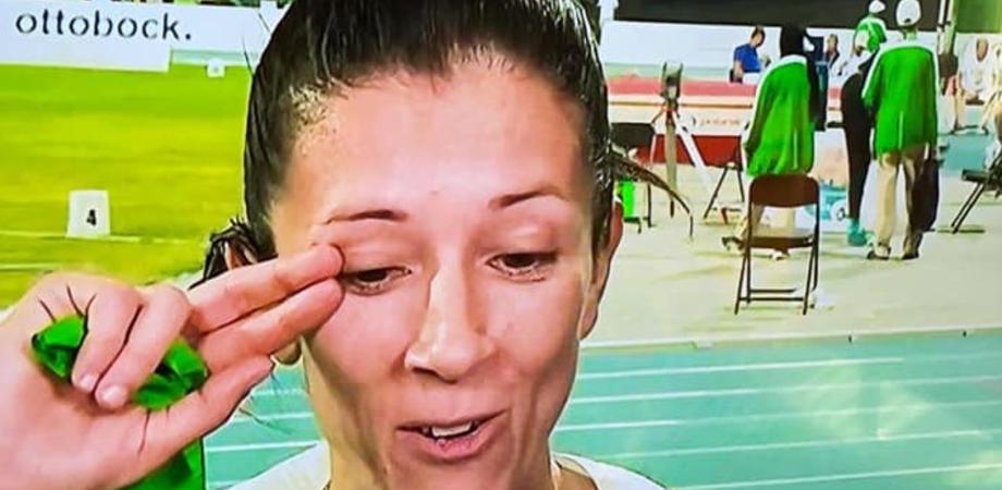 """La soldatessa gelese Monica Contrafatto conquista una medaglia d'argento ai mondiali paralimpici. """"Sono contentissima, vale oro"""""""