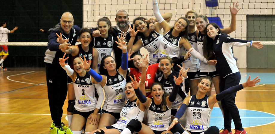 Pallavolo femminile, campionato di serie C: l'Albaverde vince e conquista la vetta della classifica