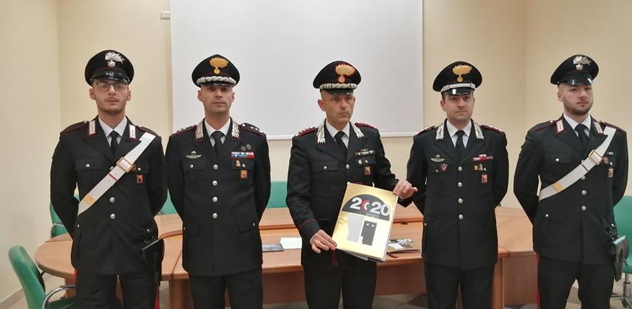 A Caltanissetta presentato il calendario 2020 dei carabinieri: i testi sono stati scritti da Margaret Mazzantini