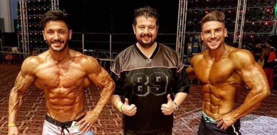 Body Building, alla Roma Cup IFBB primo posto per Febo Gambacorta e Davide Principe