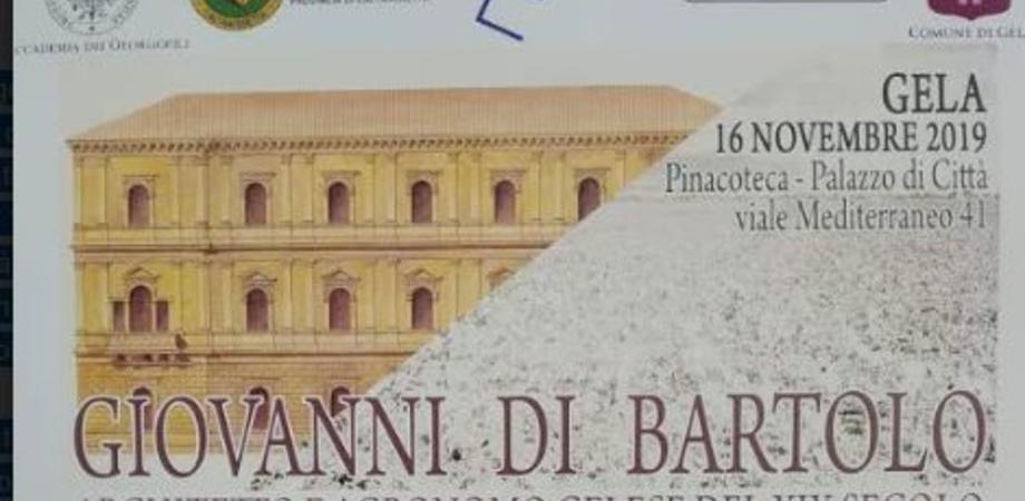 Gela rende omaggio a Giovanni Di Bartolo, introdusse in Italia la coltivazione del cotone