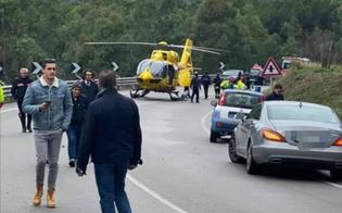 Scontro frontale tra due auto sulla Ss117 bis: 4 feriti, il più grave è al Sant'Elia di Caltanissetta