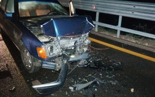 Scontro frontale sulla Caltanissetta-Agrigento: tre feriti trasportati al Sant'Elia