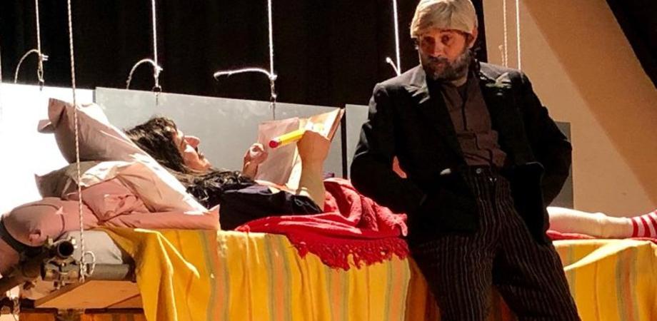 """Al teatro Rosso di San Secondo di Caltanissetta in scena """"Sancho"""", l'inseparabile scudiero di Don Chisciotte"""