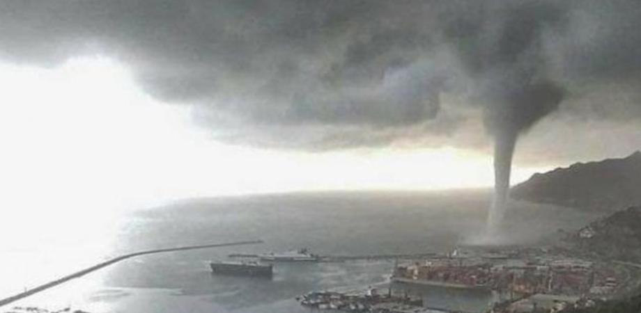 Tromba d'aria a Licata: tetti scoperchiati e case danneggiate dalla furia del vento